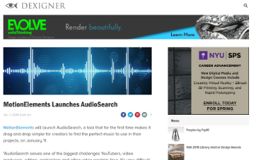 MotionElements Launches AudioSearch