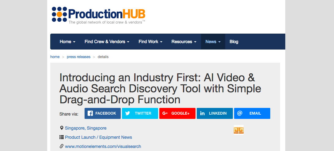 (English) Introducing an Industry First: AI Video & Audio Search Discovery Tool With Simple Drag-and-Drop Function